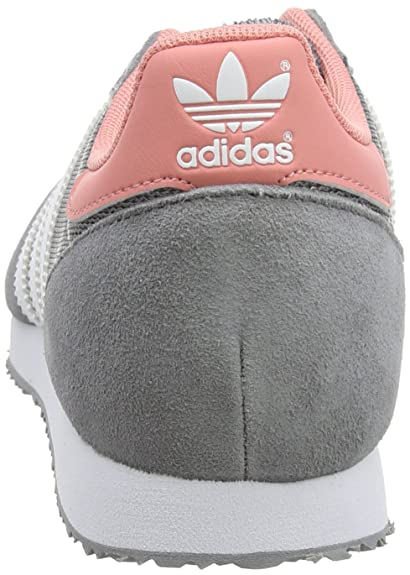 adidas ZX Racer, Baskets Basses Femme, Gris (GreyFTWR White