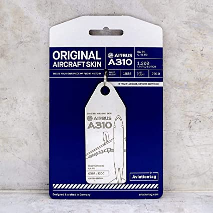 Amazon.com: AVT001 AviationTag Airbus A310 (Fuerza Aérea ...