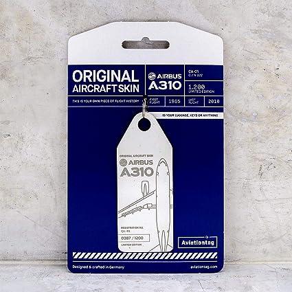 Amazon.com: AVT001 AviationTag Airbus A310 (Fuerza Aérea ...