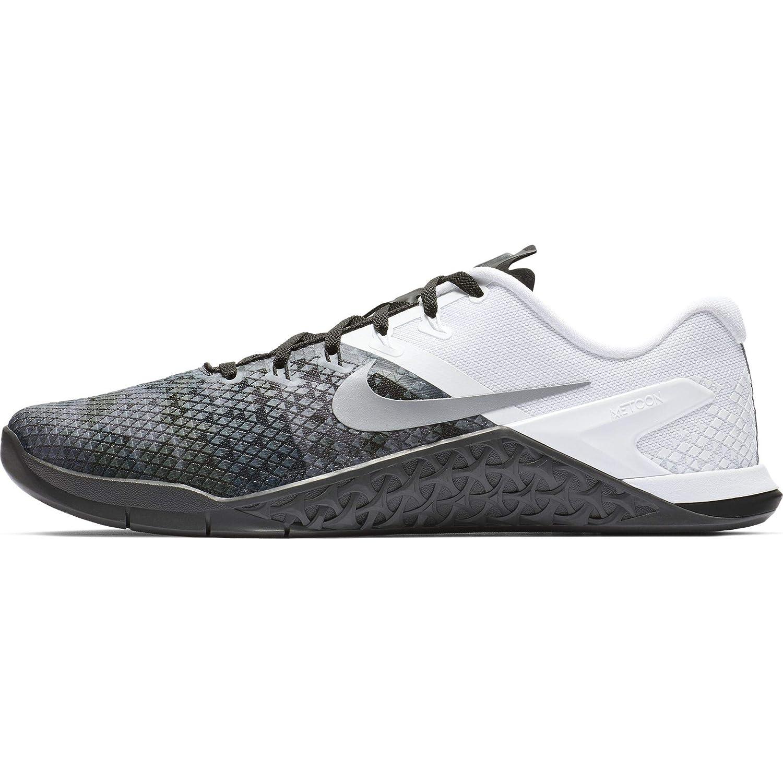 schwarz Wolf grau-anthracite-Weiß Nike Herren Metcon 4 Xd Gymnastikschuhe