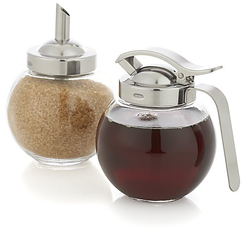 Sprinkle It Shaker and Pour It Dispenser Set | Crate and Barrel