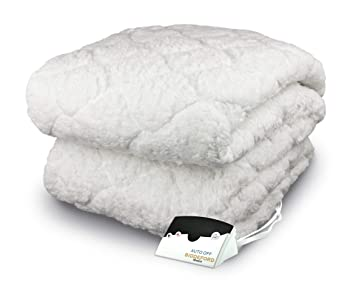 Biddeford Soft Sherpa Heated Mattress Pad