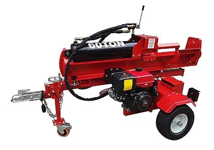amazon com 60 ton 15hp 420cc hydraulic gasoline powered log wood