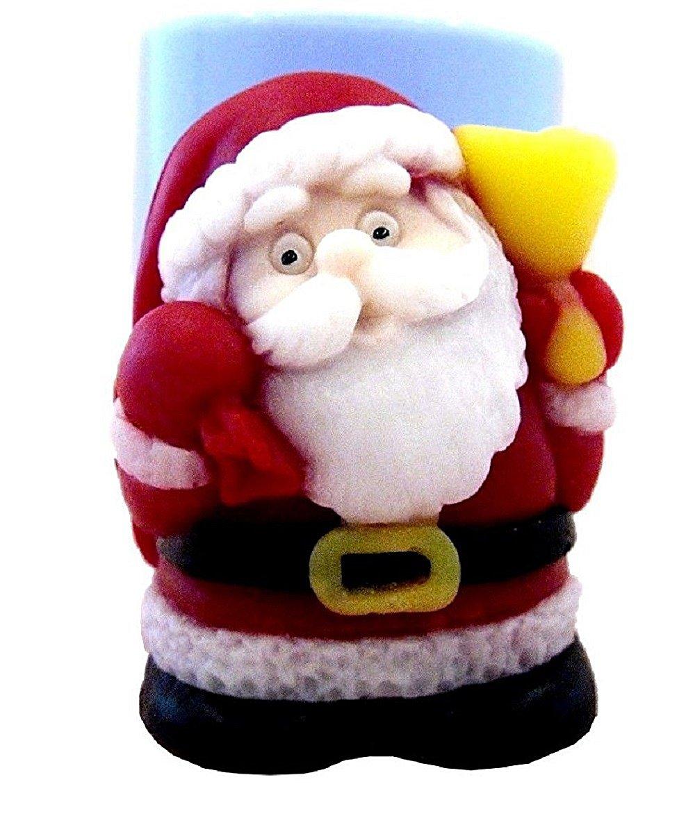 Inception Pro Infinite Stampo in silicone per uso artigianale di babbo natale con il sacco dei regali - adatto anche per candele Exsyn Di Tozzi Stefano