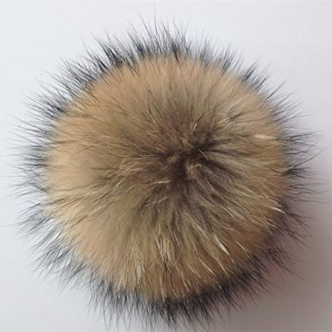 Vera grande Fox artificiale pelliccia pompon portachiavi palla Fluffy  ciondolo borsa auto portachiavi e9223c53947d