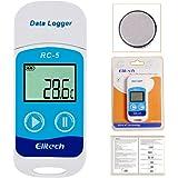 MOHOO RC-5 防水 ミニレコーダー USB高精度 LCD表示 温度計 温度記録計 温度データロガー センサー 32000ポイント