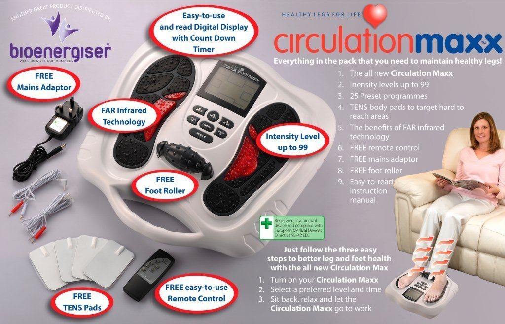 stimulateur circulation sanguine