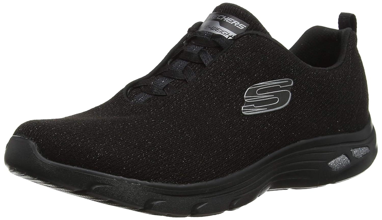 TALLA 37 EU. Skechers Empire D'lux-Burn Bright, Zapatillas para Mujer