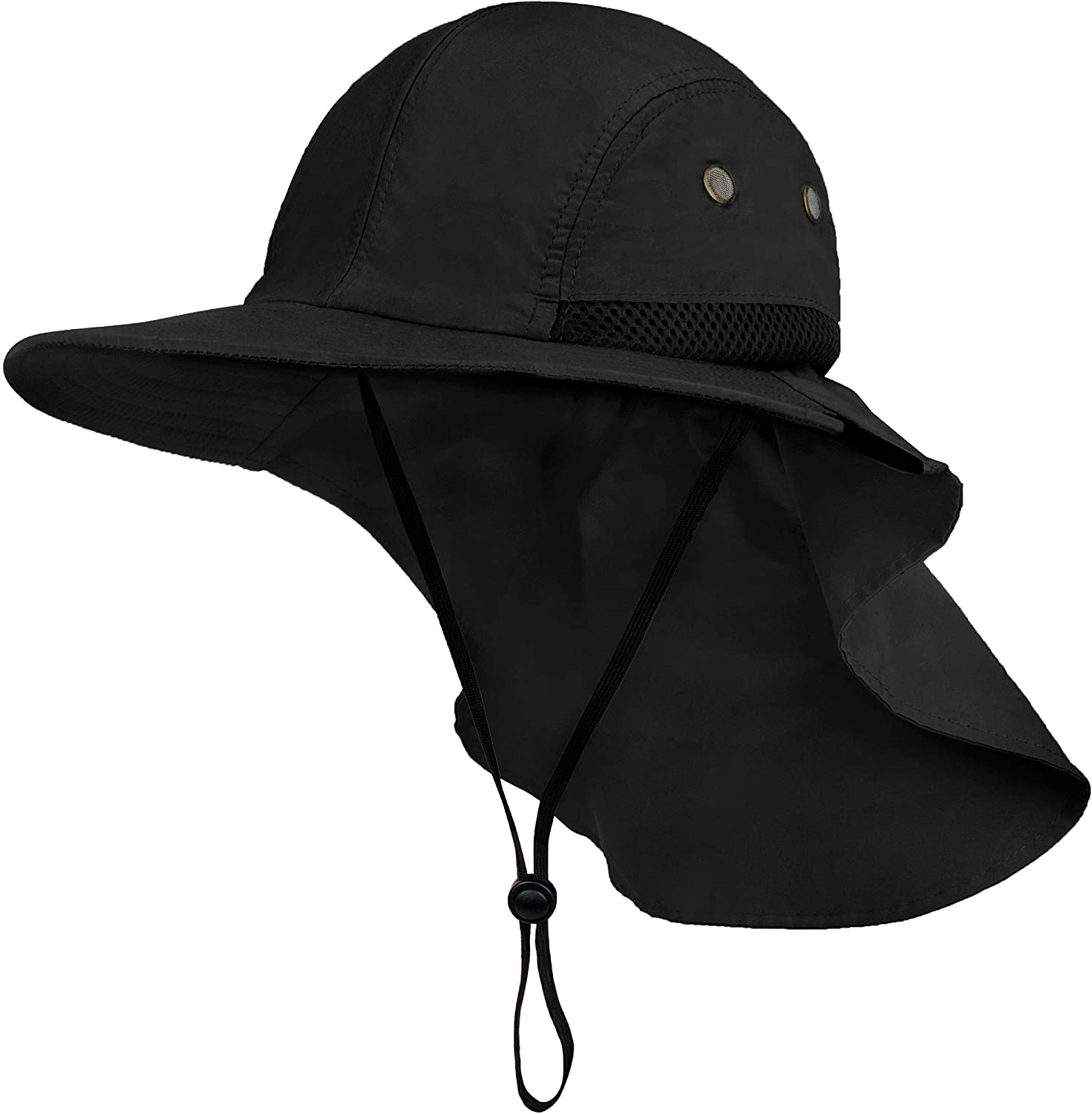 Unisex Fisherman Hat Solid Color Sun Protection Cap Fashion Bucket Hat Foldable Outdoors Sport Headgear Fishing Camping Hiking Headwear