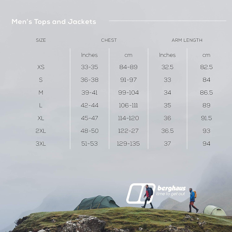 Hombre Berghaus Spitzer Interactive Chaqueta de Forro Polar