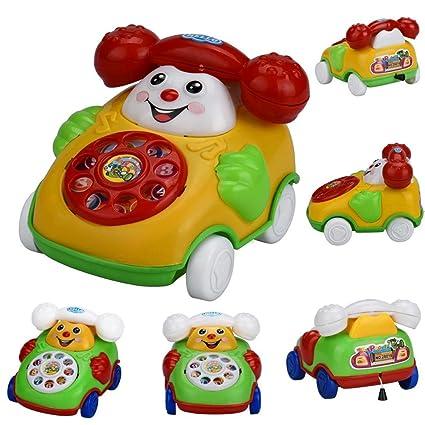 Amazoncom Cartoon Chain CarHemlock Infant Kids Educational Toys