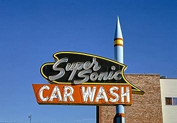 Amazon Com Roadside America Photo Collection 1991 Supersonic Car