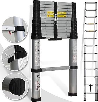 Teleskopleiter Klemmschutz Mehrzweckleiter Klappleiter Stehleiter Anlegeleiter
