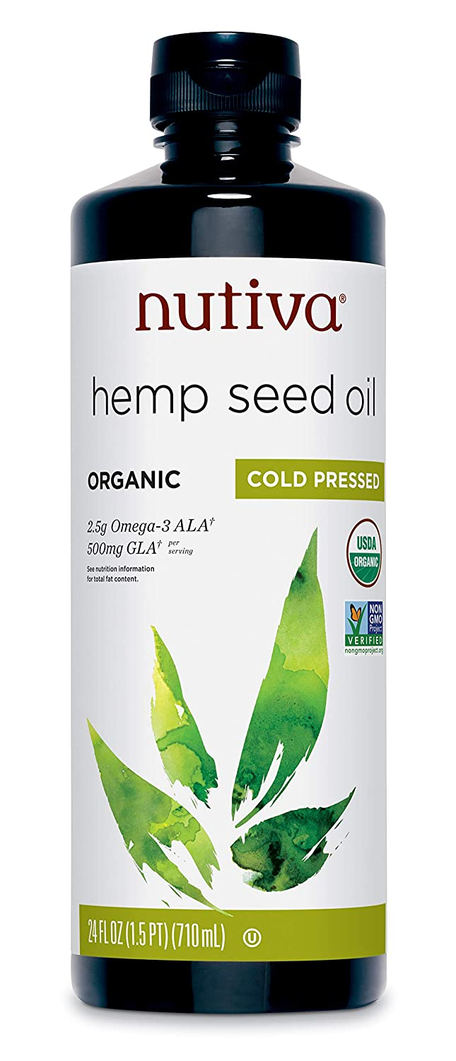 Nutiva Organic Hemp Oil 236ml: Amazon.es: Alimentación y bebidas