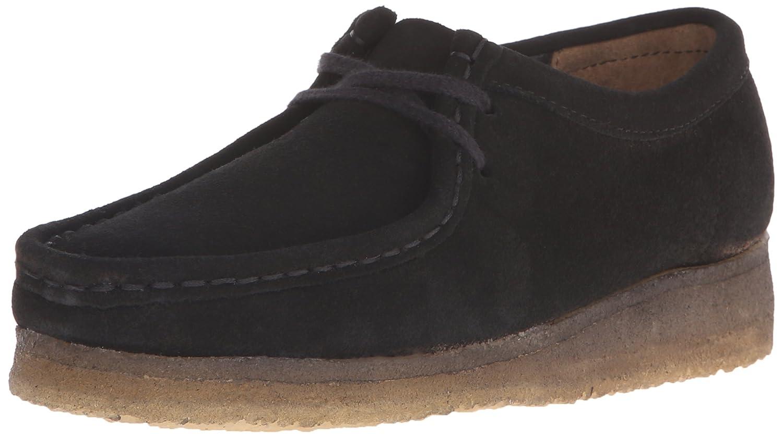 CLARKS Women's Wallabee Boot B011W692KO 6 B(M) US|Black