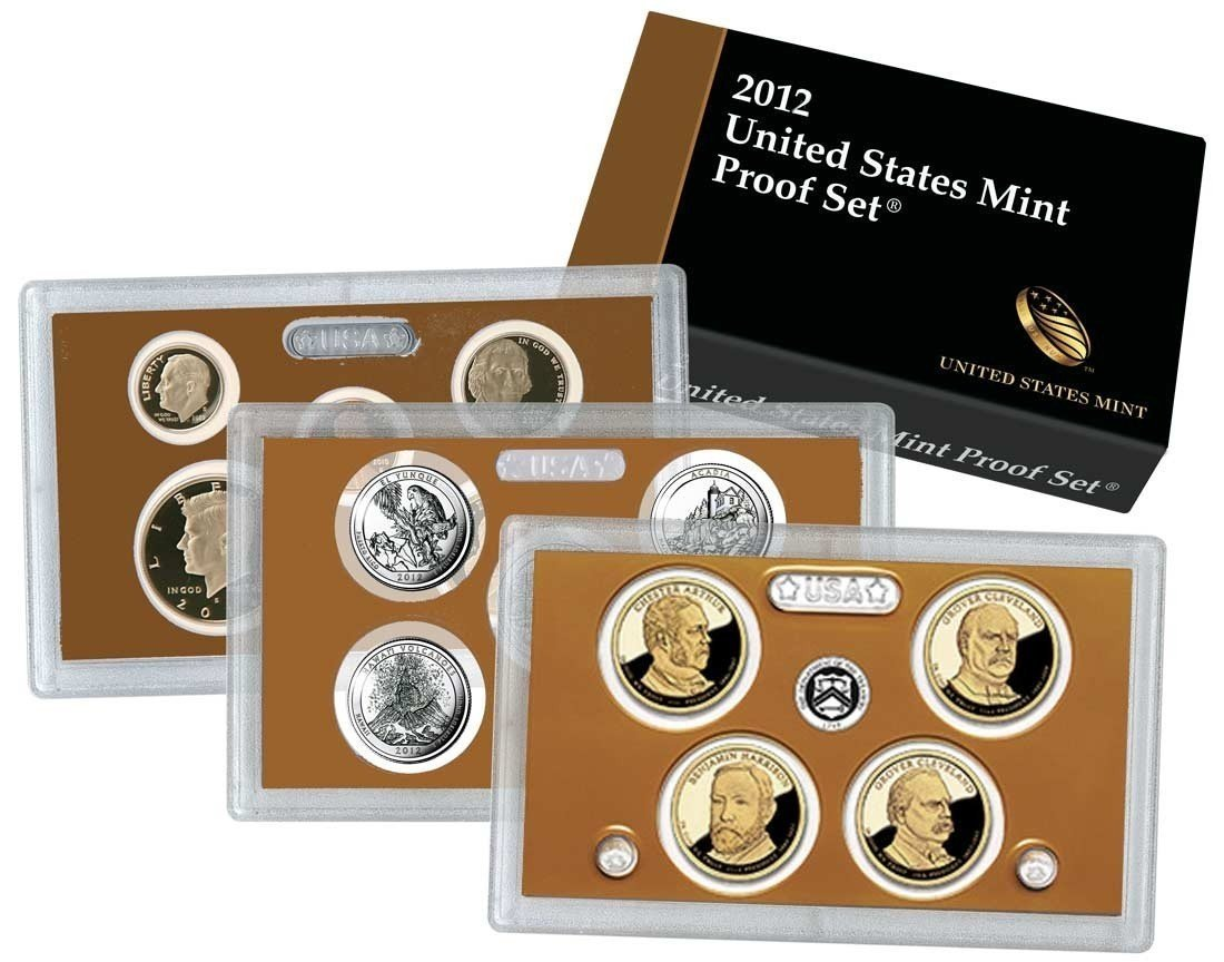 2011 14 Coin United States Proof Set