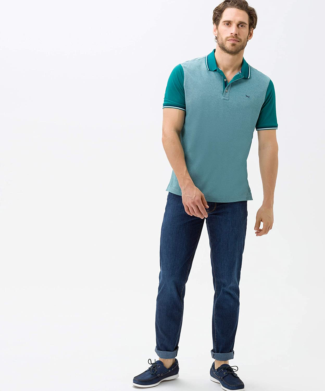 Nachhaltige Five-Pocket Jeans BRAX Herren Style Cadiz Ultralight Blue Planet
