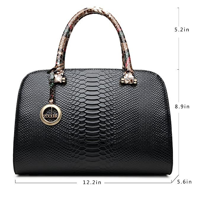 4ae236b9c2 Amazon.com  ZOOLER GLOBAL Womens Leather Handbags Top Handle Bags Satchel  Purses for Women  Shoes