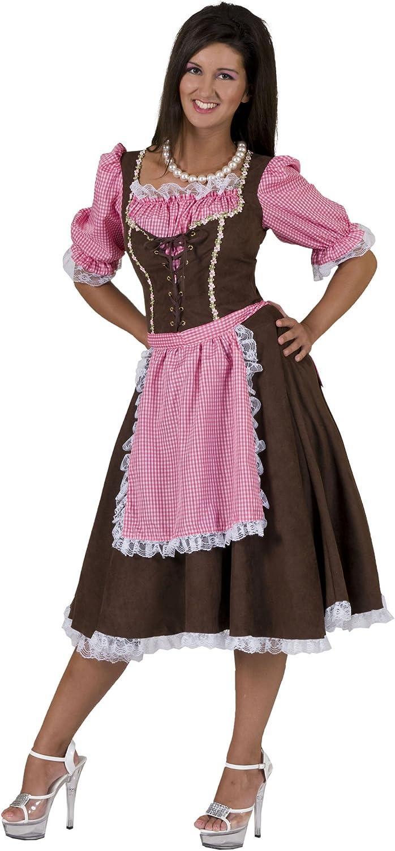 Disfraz de Tirolesa Gisela para Mujer L: Amazon.es: Juguetes y juegos