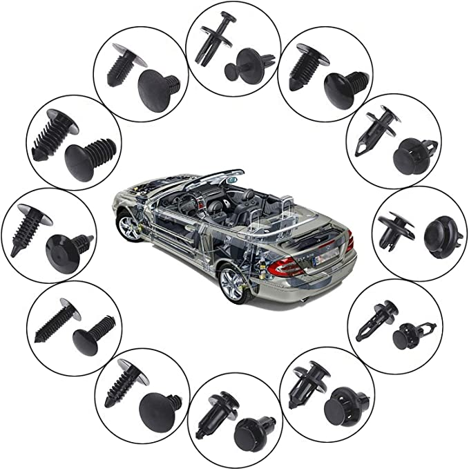 Body Clips Color Name: Size 43 Fastener & Clip Practical Automobile Plastic Fastener Clip for Civic Accord Car Bumper Fender Fixed Clips