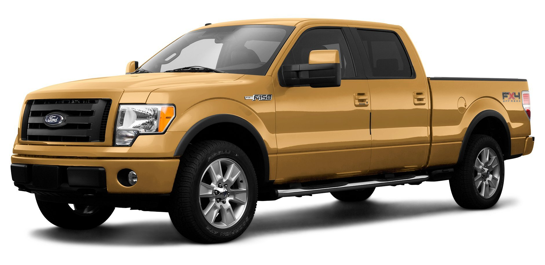2009 Ford F 150 Reviews Images And Specs Vehicles 1955 F100 Truck Moon Caps Fx4 4 Wheel Drive Supercrew 145