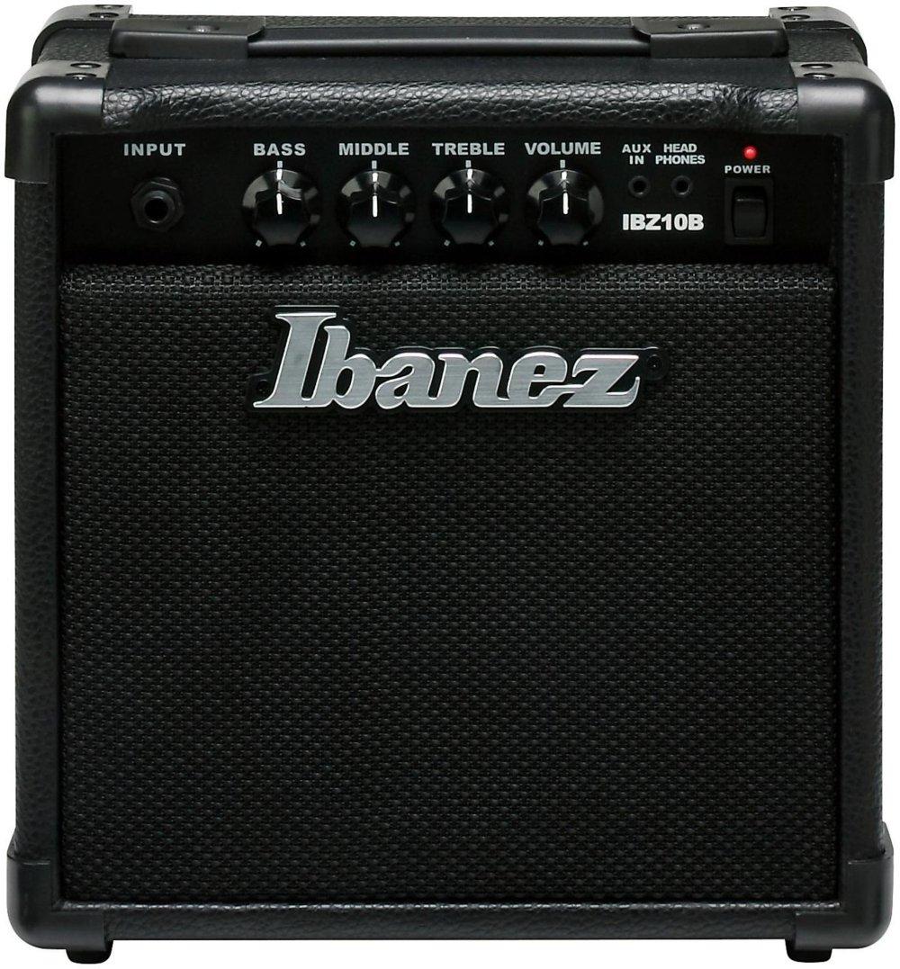 Ibanez Bass Combo Amplifier, Black (IBZ10B) by Ibanez