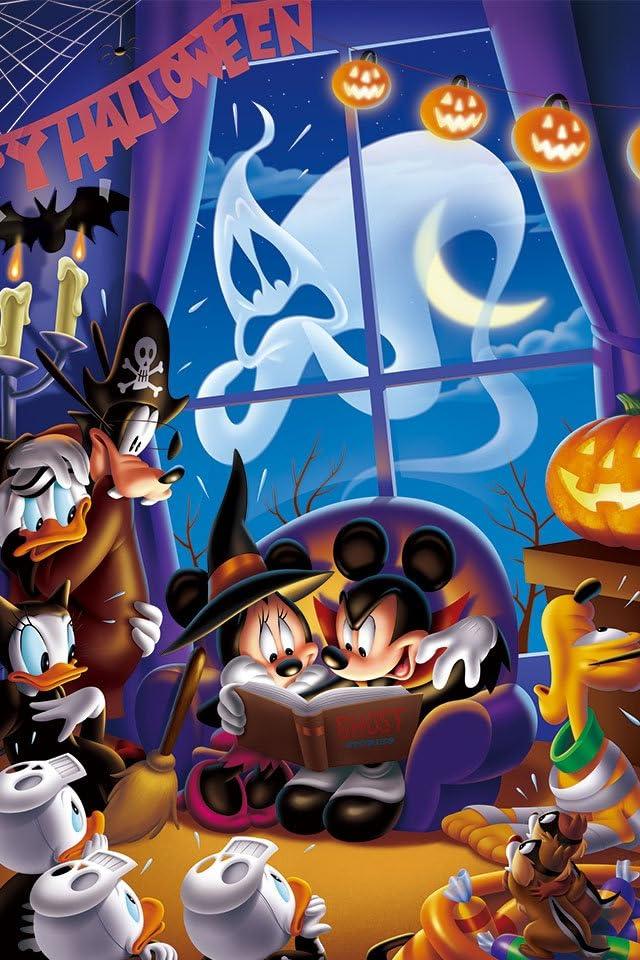 ディズニー ホーンテッドパーティー iPhone(640×960)壁紙 画像67381 スマポ