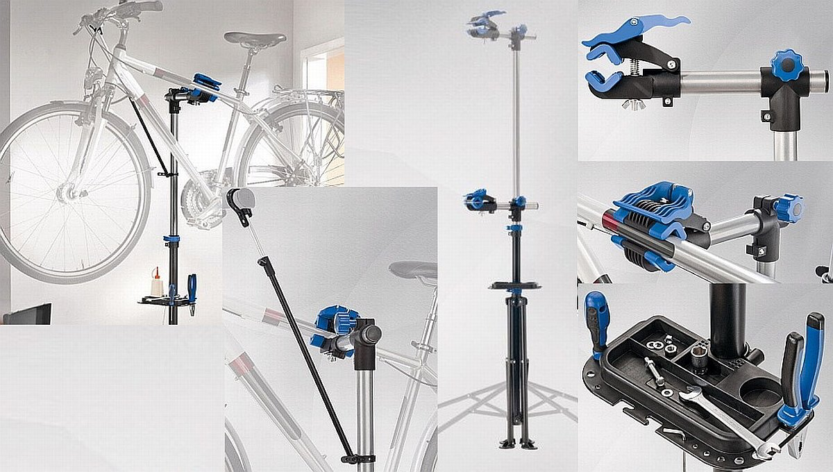 Soporte de taller para bicicletas bici caballete ideal para reparar bici ciclo: Amazon.es: Industria, empresas y ciencia