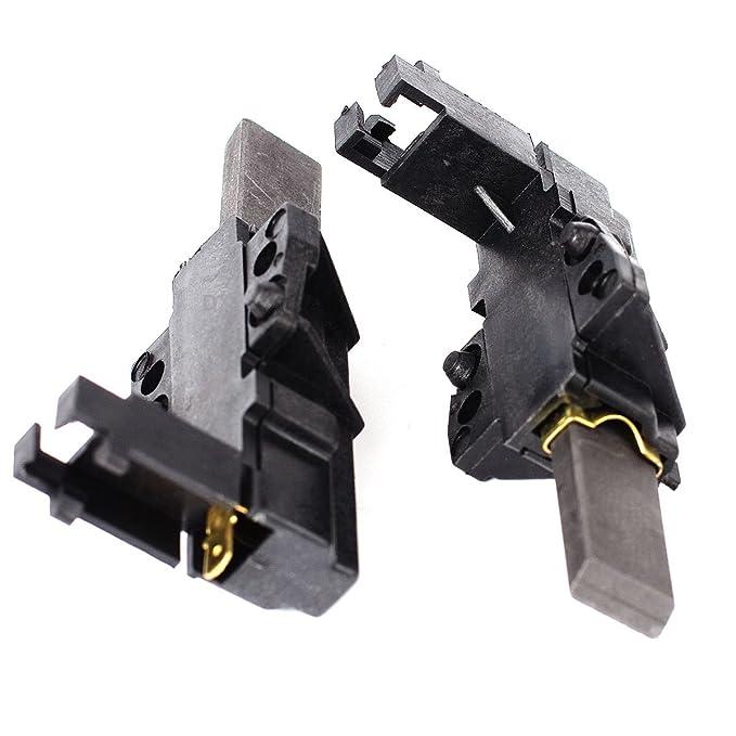 2 Motorkohlen Kohlebürsten für CESET Motor wie Bauknecht 481236248004 BSH 151613