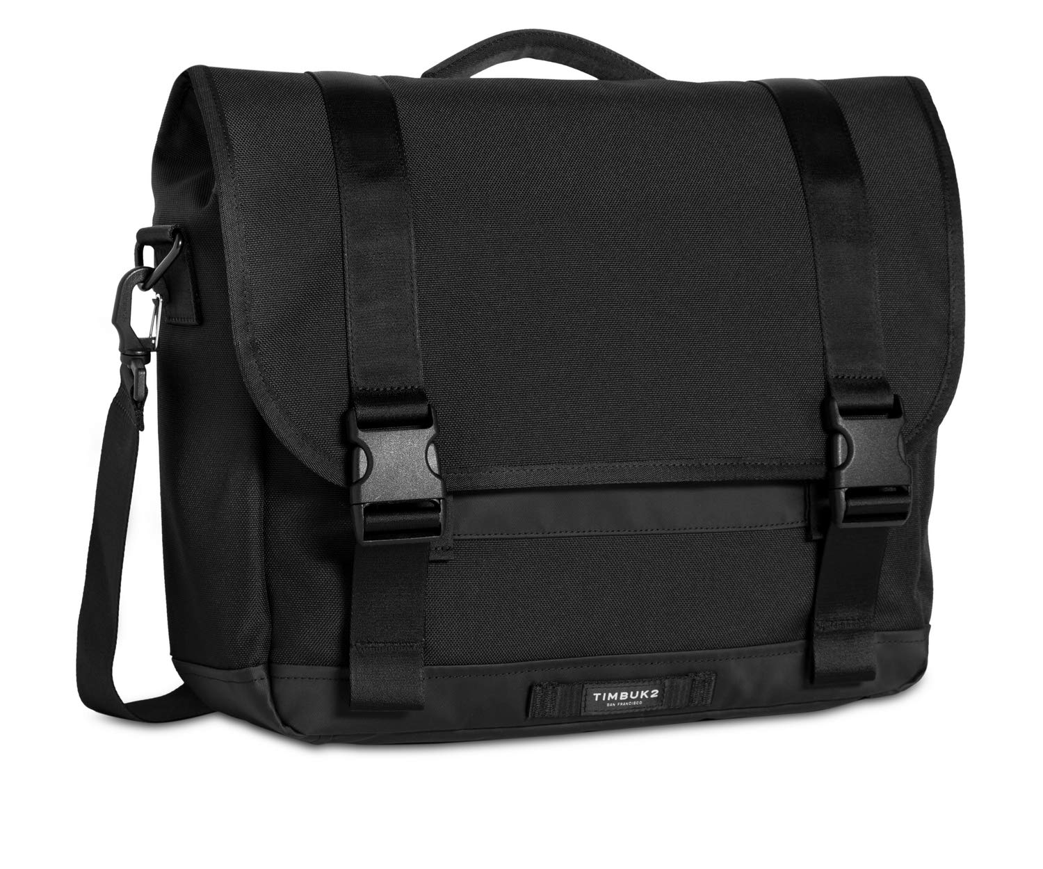 Timbuk2 Commute Messenger Bag 2.0, Jet Black, Medium