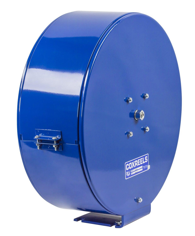 5000 PSI 25/' hose Coxreels ENHL-N-125 Spring Rewind Enclosed Hose Reel for grease//hydraulic oil: 1//4 I.D. 25 hose less hose