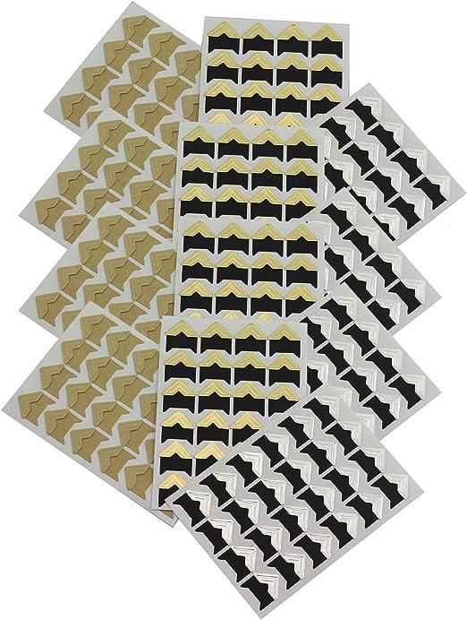 24Pcs Photo Corners Sheet Album Ornaments DIY Stickers For Handcraft Scrapbook