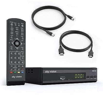 Sky Vision 260 C de HD (Juego de 3 con DVB-C Cable Receptor