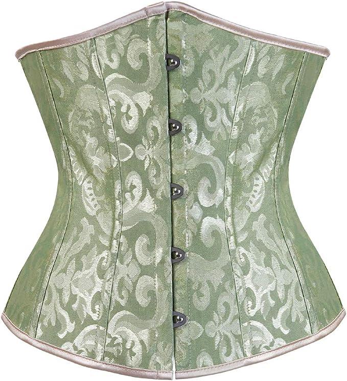 Steampunk Costume Essentials for Women Grebrafan Bridal Underbust Waist Corset Plus Size Vintage £7.78 AT vintagedancer.com