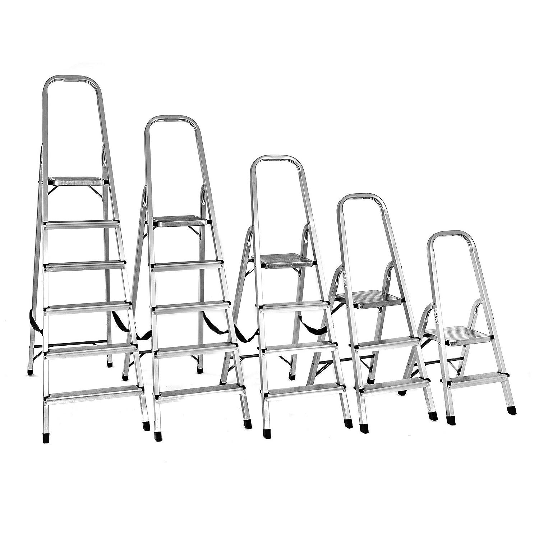 Aluminium Klappleiter mit 2,3,4,5 oder 6 Stufen 3 Stufen