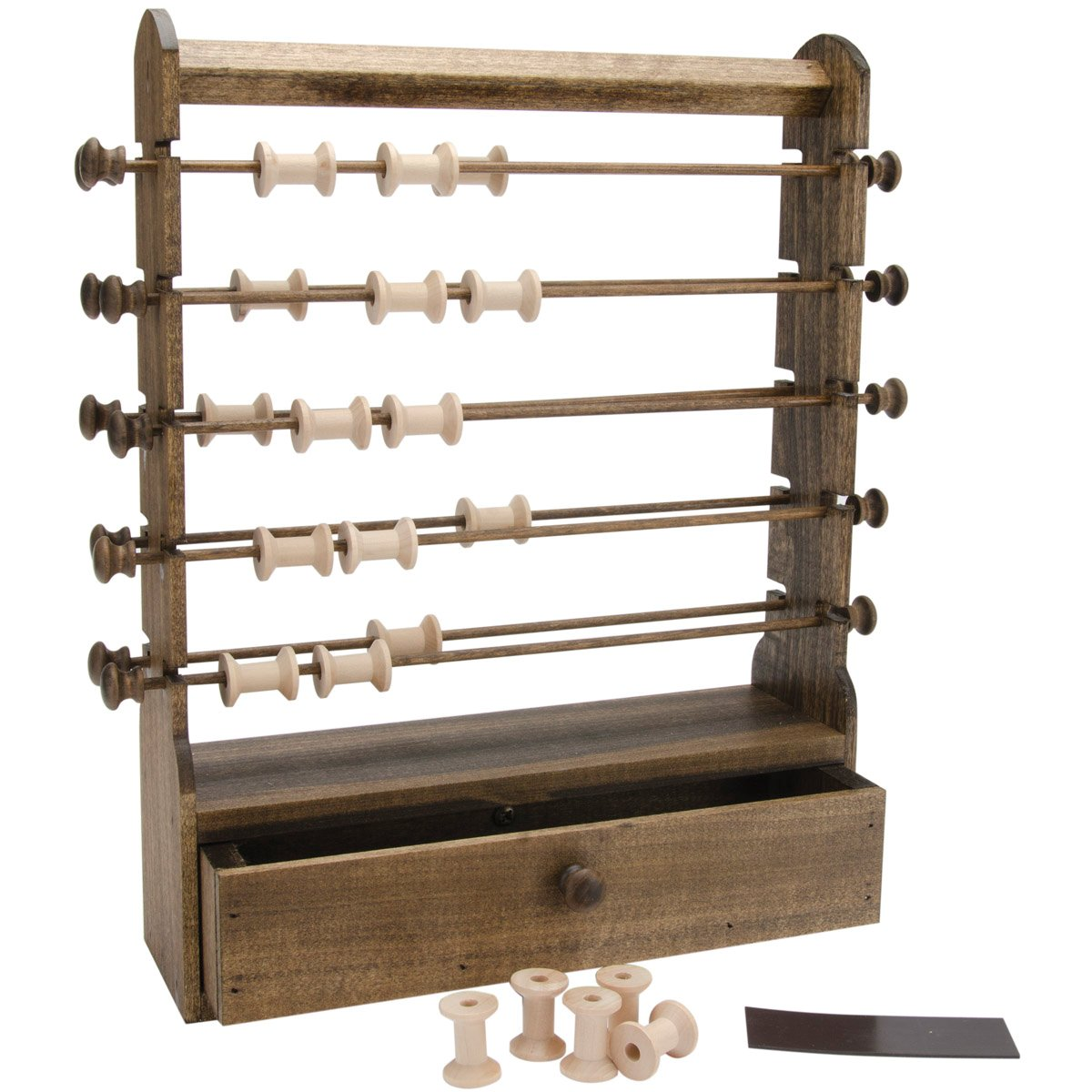 Edmunds Antique Thread Keeper, 12 by 3-1/2 by 16-Inch by Edmunds