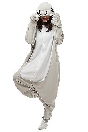 beaucoup à la mode le dernier grossiste Pyjamas Phoque Combinaison Kigurumi Kigus Adultes Femmes ...