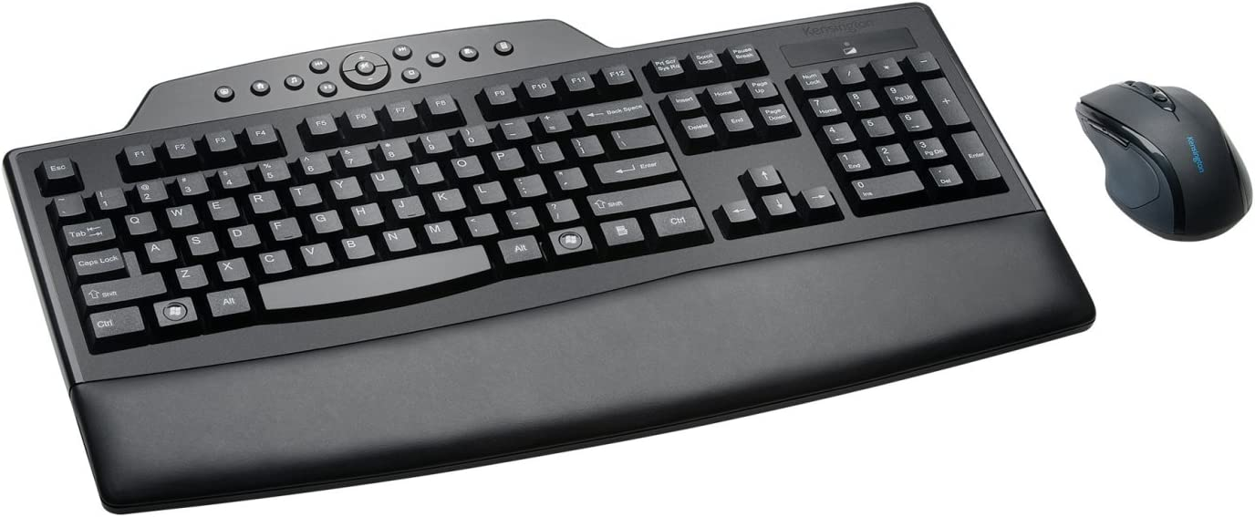 Kensington Pro Fit Wireless Comfort Desktop Set, Includes Keyboard and Right-Handed Mouse (K72403US)