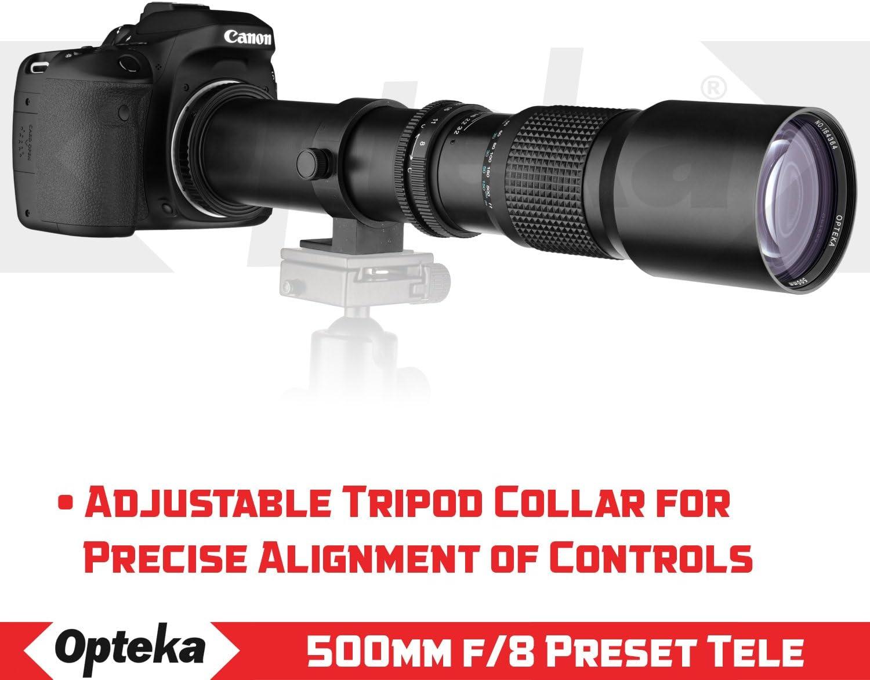 PL3 Opteka 500mm f//8 Telephoto Lens for Olympus Pen E-P5 PL2 PL6 PL1s Pen-F PL8 PL5 P2 PM2 PL7 P3 M5 II OM-D M10 OM-D E-M1 PL1 M1X P1 PM1 M5