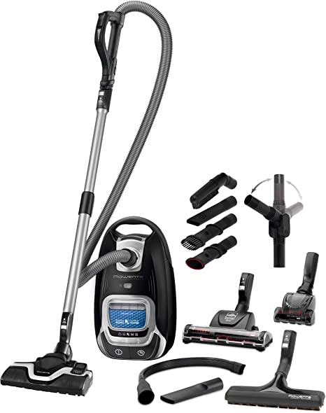 Rowenta RO7485EA Silence Force Full Care Pro - Aspiradora con Bolsa Full Care Pro. Negro: Amazon.es: Hogar