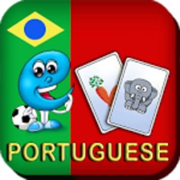 Amazon Com Portuguese Baby Flash Cards 4 Kids Plus Appstore For