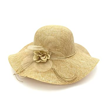 Mainstream Women Sun Hats Flower Wide Brim Hats For Female Light Weight  Breathable Hat Female Casual 84777c3f1d1
