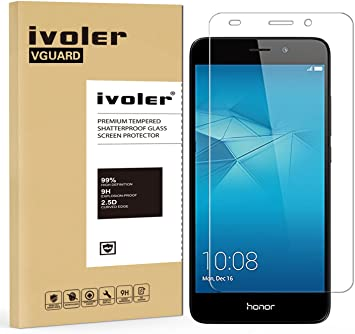 ivoler Protector de Pantalla para Huawei Honor 5c, Cristal Vidrio ...
