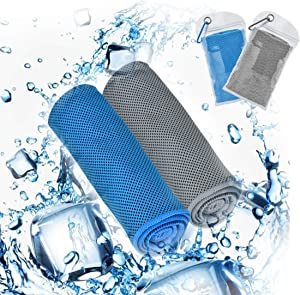 U-picks Cooling Towel Ice Towel,Soft Breathable Microfiber Towel for Yoga Golf Travel Gym Sport Camping Football & Outdoor Sports