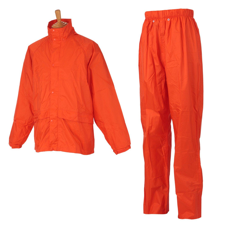 ヤマシュウ レインスーツ こだわりRAIN #8000 オレンジ M B00TRUXX30 M|オレンジ オレンジ M