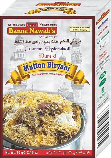 Amazon Com Hyderabadi Mutton Biryani Masala Gourmet Food