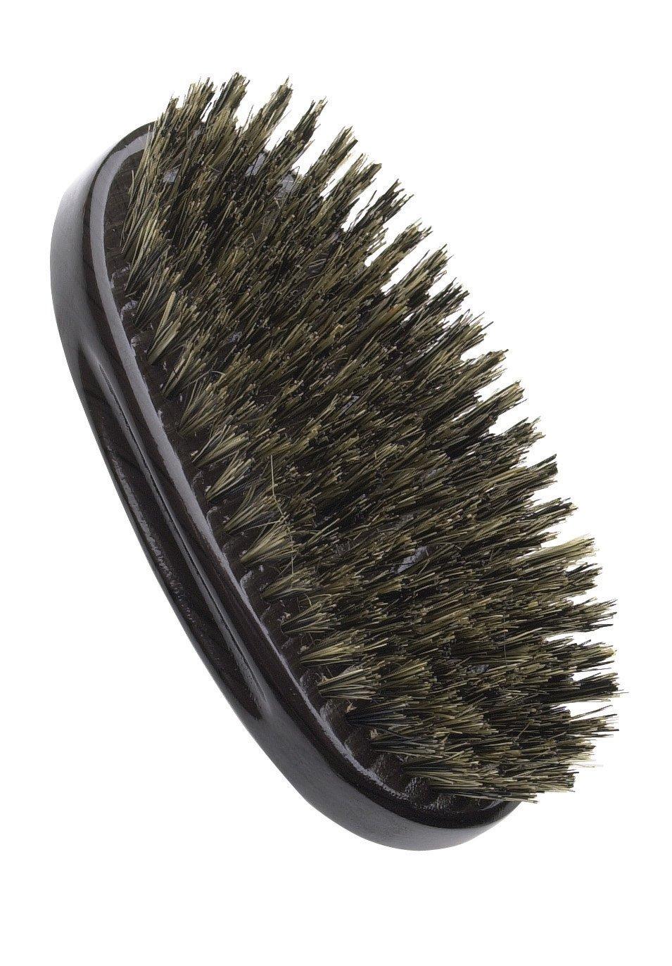 Amazon.com : Diane Original 5 Palm Brushes DBB105, Boar bristles, dark wood, natural bristle, grey wood handle, gray wood, salon, barber, professional, ...