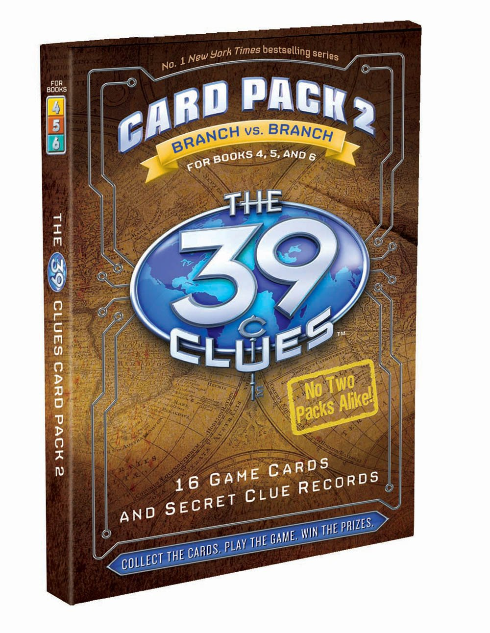The 39 Clues Card Pack 2: Branch Vs Branch: Scholastic: 9780545088459:  Amazon: Books