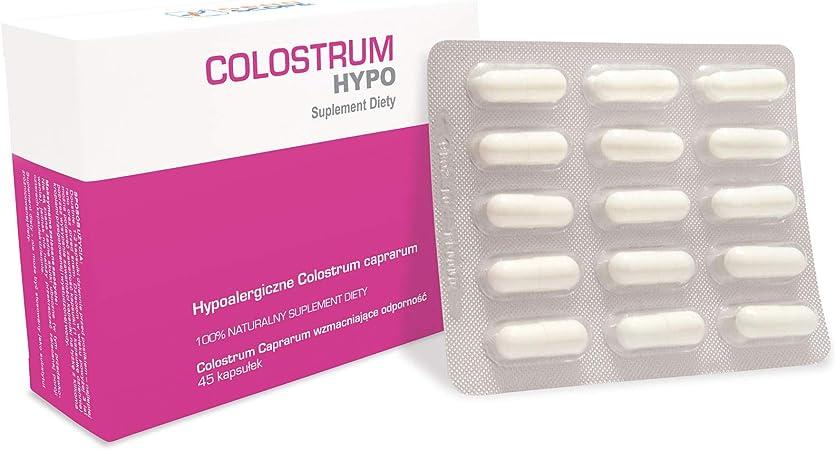 Genoscope - Goat Colostrum Caprarum HYPO - Caps 45 pcs. Para ...