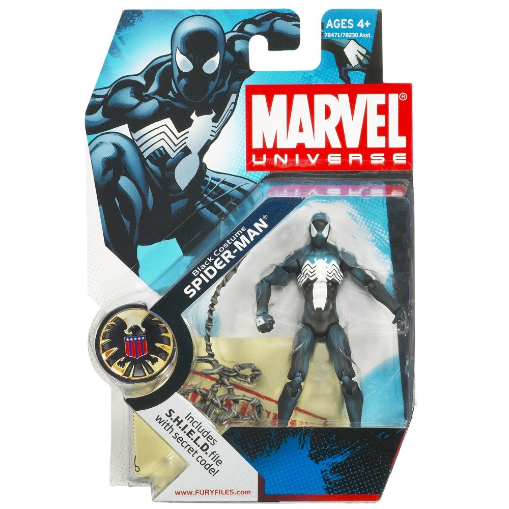 Buy Marvel Universe 3 4 Series Action Figure Black Spider Man Luggage Tag Spiderman Kotak Online At Low Prices In India
